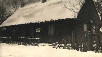Szkoła w Górkach (ok.1918 r.)