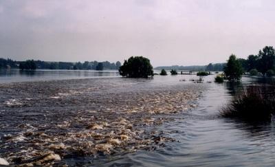 Powódź - Podłęże Szlacheckie (1997 r.)
